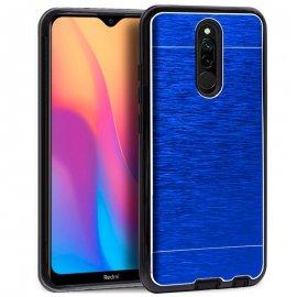 Funda Silicona y Aluminio Xiaomi Redmi 8/8a Azul