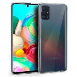 Funda Silicona Samsung A71 - A715 Transparente-