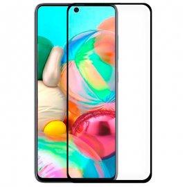 Protector Cristal Templado Samsung A71 - A715 - Note 10 Lite Negro
