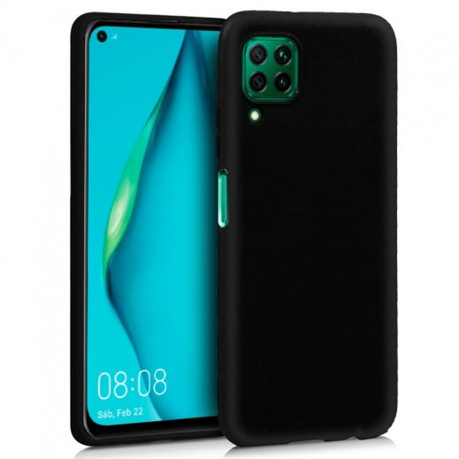 Funda Silicona Huawei P40 Lite Negra - Foto 1