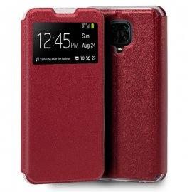 Funda Libro Xiaomi Note 9s Note 9 Pro Roja
