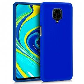 Funda Silicona Xiaomi Note 9s Note 9pro Azul