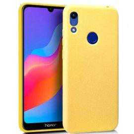 Funda Silicona Huawei Y6/ Honor 8a en Amarillo