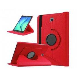 Funda Tablet Ipad 5/6/7/8 Giratoria Roja