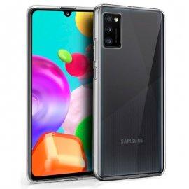 Funda Silicona Samsung A41 Tramsparente