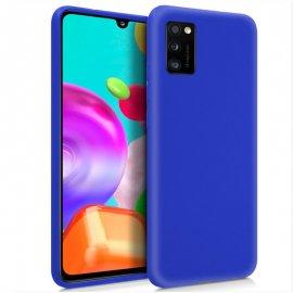 Funda Silicona Samsung A41 Azul