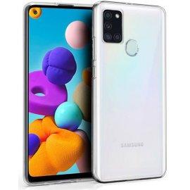 Funda Silicona Samsung A21s Transparente