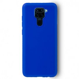 Funda Silicona Xiaomi Note 9 Color Azul