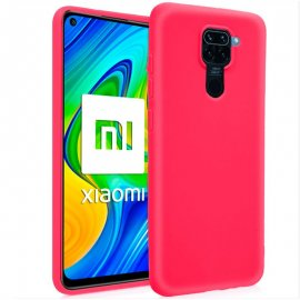 Funda Silicona Xiaomi Note 9 Color Rosa