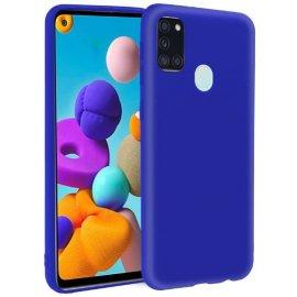 Funda Silicona Samsung A21s Azul