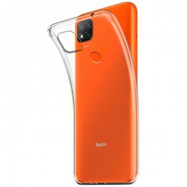 Funda Silicona Xiaomi Redmi 9c Transparente