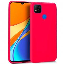 Funda Silicona Xiaomi Redmi 9c Rosa