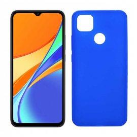 Funda Silicona Xiaomi Redmi 9c Azul