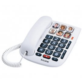 Telefono Alcatel Tmax10 Sobremesa Blanco