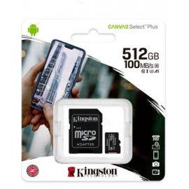 Tarjeta Micro Sd Kingston 512gb 100mb/s Clase 10