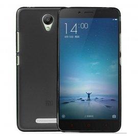 Funda Silicona Xiaomi Redmi 3/3s/3pro Negra