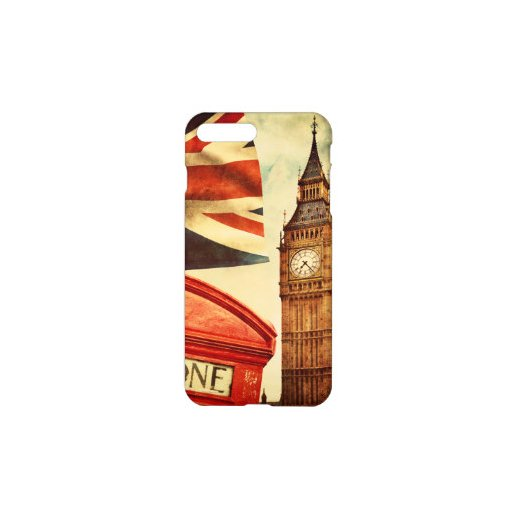 Carcasa Iphone 7 Dibujos London - Foto 1