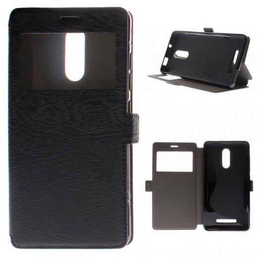 Funda Libro Xiaomi Redmi Note 4 Negra - Foto 1