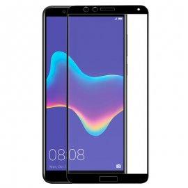Protector Cristal Templado Huawei Y9 2018 Nrgo 3 D
