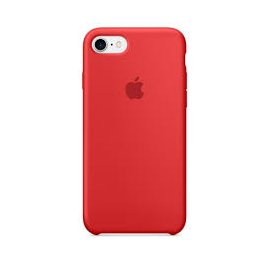 Funda Silicona Iphone 7 Plus 5.5 Roja