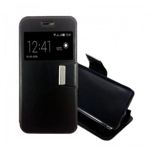 Clear Cover Samsung Galaxy S8 Negra - Foto 1