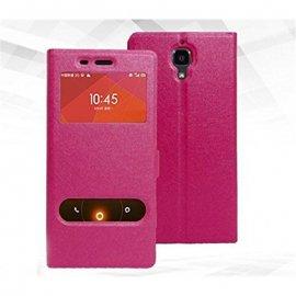 Funda Libro Xiaomi Redmi 3 Fucsia