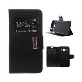 Funda Libro Samsung J3 Negra