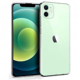 Funda Silicona Iphone 12 Transparente
