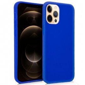 Funda Silicona Iphone 12 Pro Max Azul