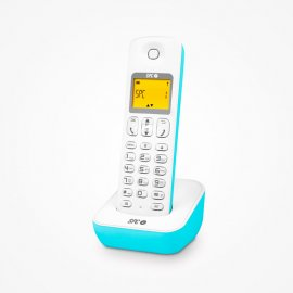 Telefono Spc Sobremesa Air Electric Blue 7300a