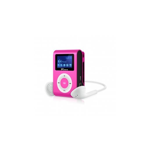 Mp3 Fm Clip&go 4gb Rosa 8544p - Foto 1