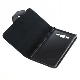 Funda Libro Samsung Galaxy A3 Negra