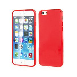 "Funda Silicona Iphone 6g 4.7"" Roja"