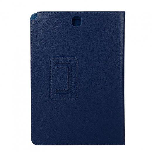 Funda Samsung Galaxy Tab a 9.7 T550 T555 Polipiel Liso Azul - Foto 1