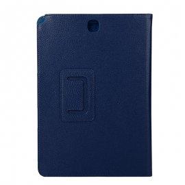 Funda Samsung Galaxy Tab a 9.7 T550 T555 Polipiel Liso Azul