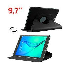 Funda Samsung Galaxy Tab a 9.7 Polipiel Liso Negro
