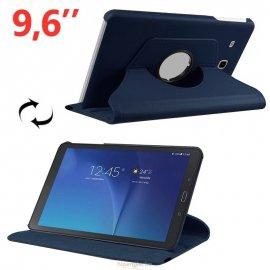 Funda Samsung Galaxy Tab e 9.6 Polipiel Azul