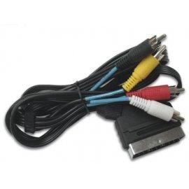 Cable Adaptador de Conexion Euroconector M / a 6 Rca 1.5 M