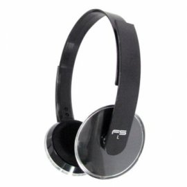 Cascos Freestyle Mp3 + Mic Omega Fh3930 Negro