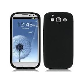 Funda Silicona Samsung Galaxy S3 Negro