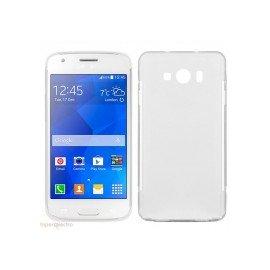 Funda Silicona Samsung Galaxy A3 Blanca