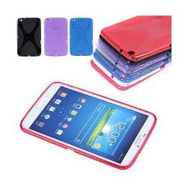 "Funda Silicona Galaxy Tab 3 8"" T311 T310 Colores"