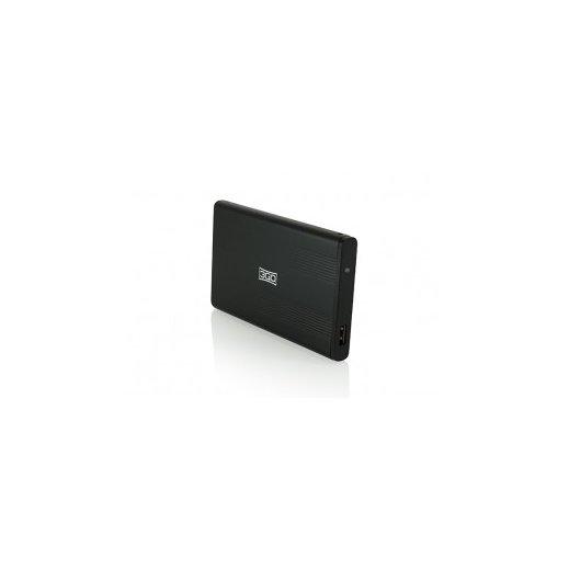"""Caja Externa Hdd 2.5"""" Sata Usb Negro 3go - Foto 1"""
