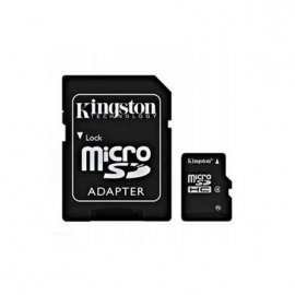 Tarjeta de Memoria Microsd + Adaptador 32gb Clase 4 Kingston