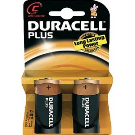 Pila Duracell Plus Power Lr14 Blister *2