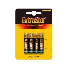 Pila Extrastar 1.5v R03/aaa