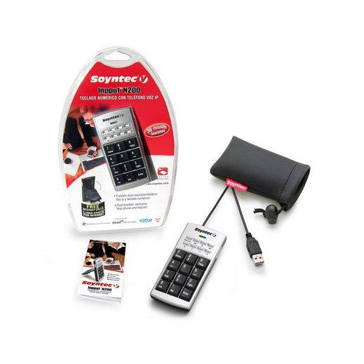 Teclado Numero Soyntec N200 + Telefono Voip - Foto 1