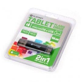 Pen Drive Usb + Micro Usb 2.0 Ax Depo 16gb Platinet