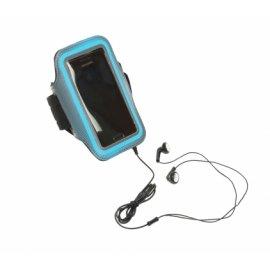 Brazalete para Smartphone Sport Azul Platinet