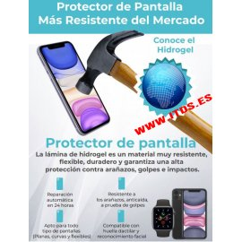 Protector de Pantalla Hidrogel